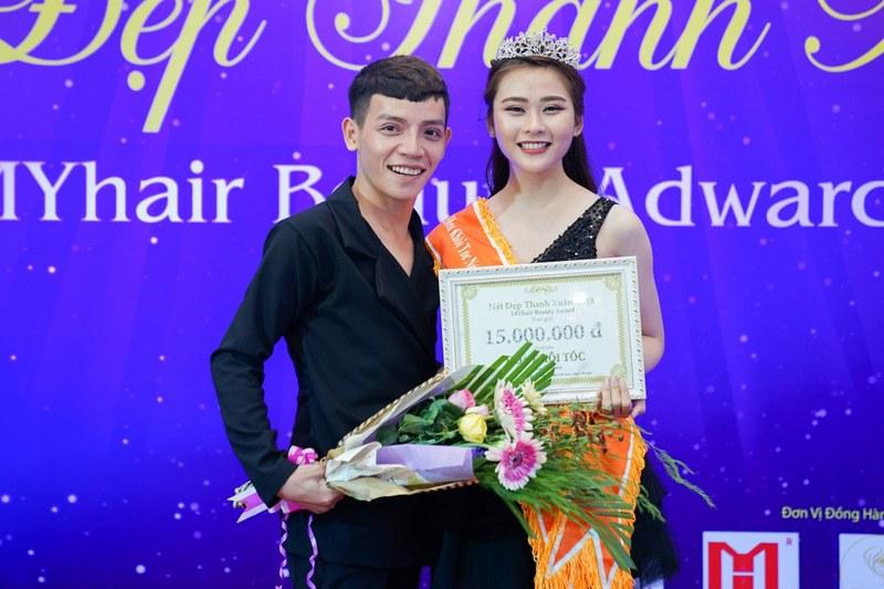 Hoa Khôi Tóc của cuộc thi Nét Đẹp Thanh Xuân 2018