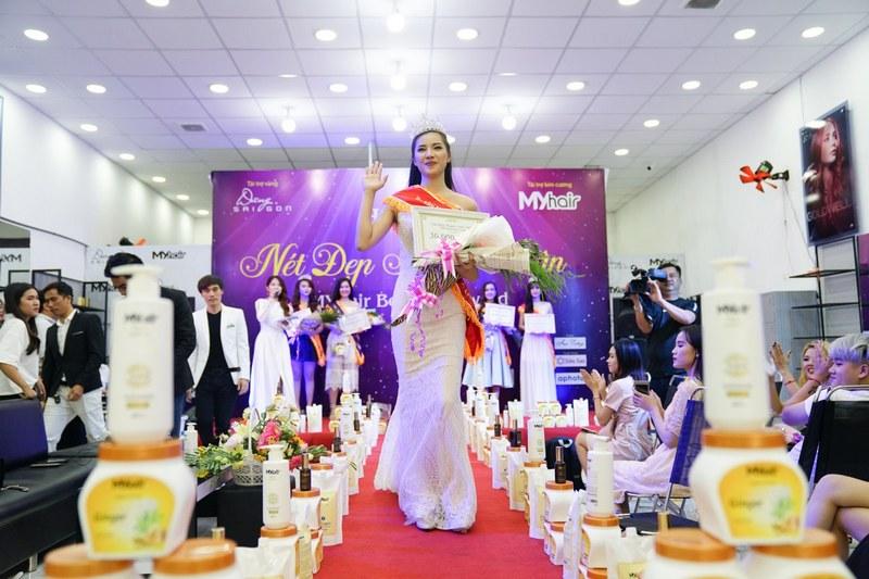 Hoa Khôi Nét Đẹp Thanh Xuân thuộc về người đẹp Trần Thị Phương Nga