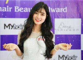 Vẻ đẹp đầy ngọt ngào của Hoa Khôi Ảnh Nét Đẹp Thanh Xuân 2018