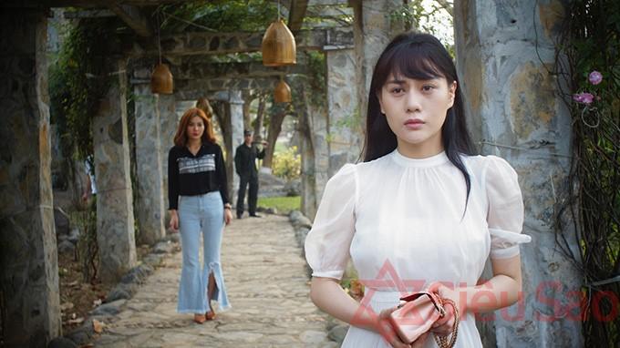 Phương Oanh trong phim 'Quỳnh búp bê'.