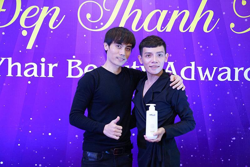 Chuyên gia make-up Trần Lâm & ông Nguyễn Minh Dũng - Giám đốc sáng tạo Dũng Sài Gòn