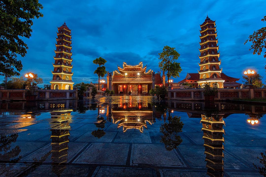 Ảnh chụp phong cảnh chùa bởi NAG Nguyễn Hải
