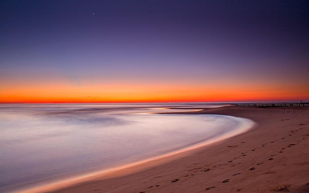 Ảnh chụp phong cảnh biển bình minh đẹp bởi NAG Nguyễn Hải