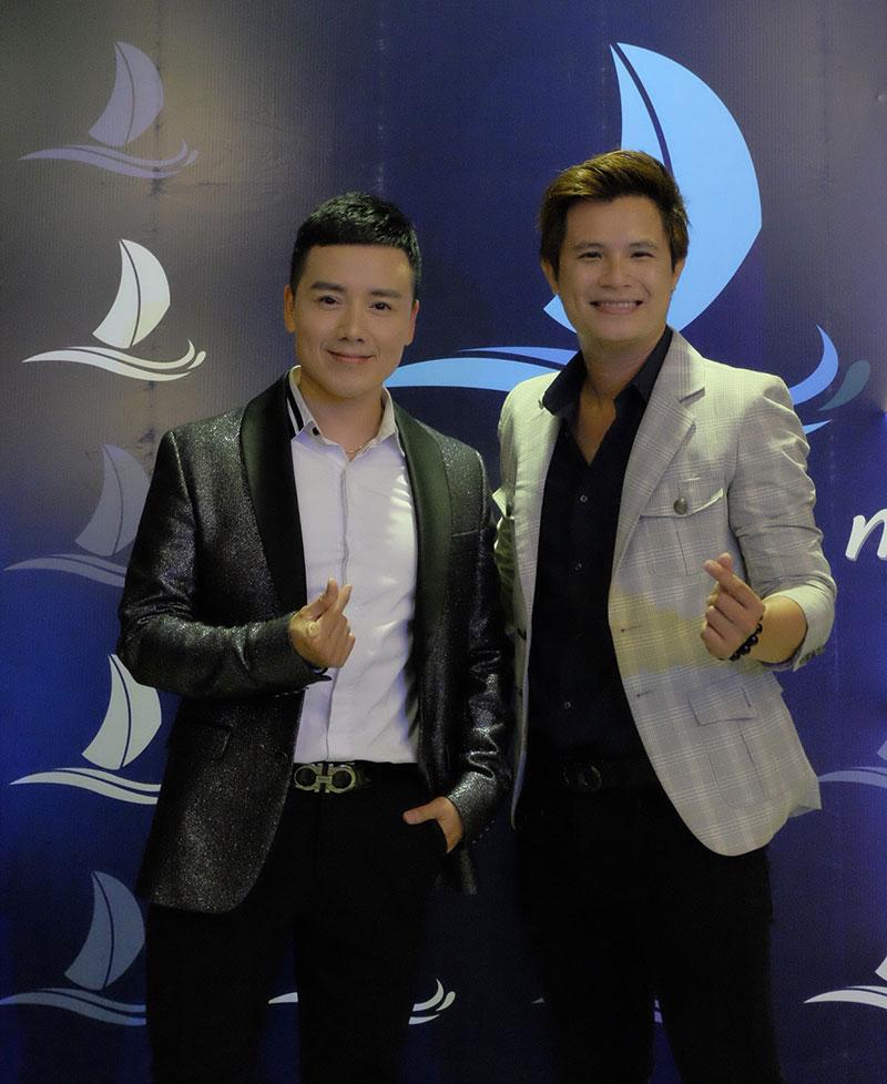 Ca sĩ Nguyễn Hoàng Nam và Ca sĩ Lee Thiên Bảo