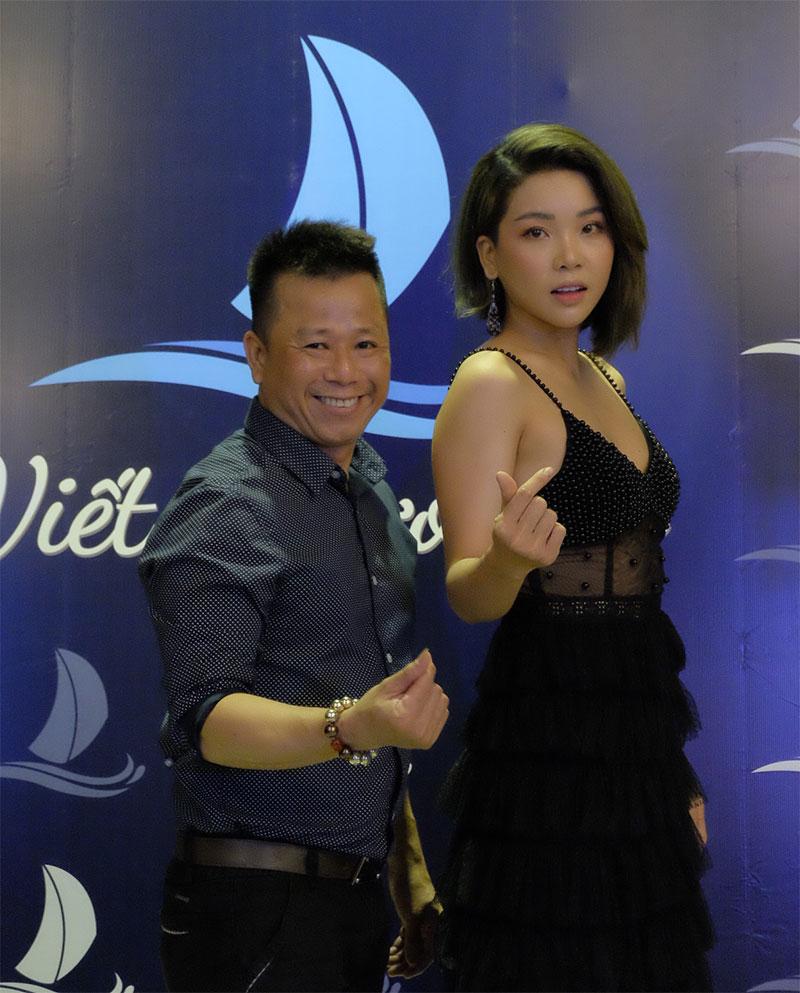 Nhà tạo mẫu tóc Tuấn Cali và Ca sĩ Trương Như Ý