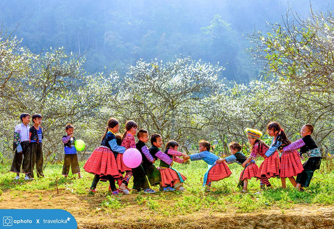 Hình ảnh đoạt giải xuất sắc cuộc thi ảnh Tết Tây Tết Ta - 2019 tác giả Nguyễn Trang Kim Cương