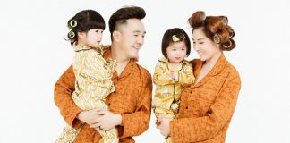 Dương Ngọc Thái hạnh phúc bên vợ và hai con gái