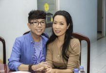 Trịnh Kim Chi cùng Long Nhật trao quà cho bà con nghèo nhân dịp Tết