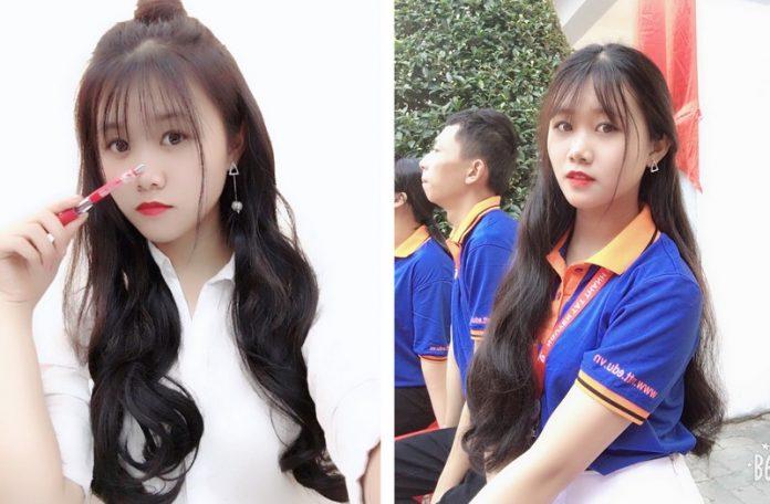 Nữ sinh xinh đẹp của Đại học Nguyễn Tất Thành khiến cư dân mạng