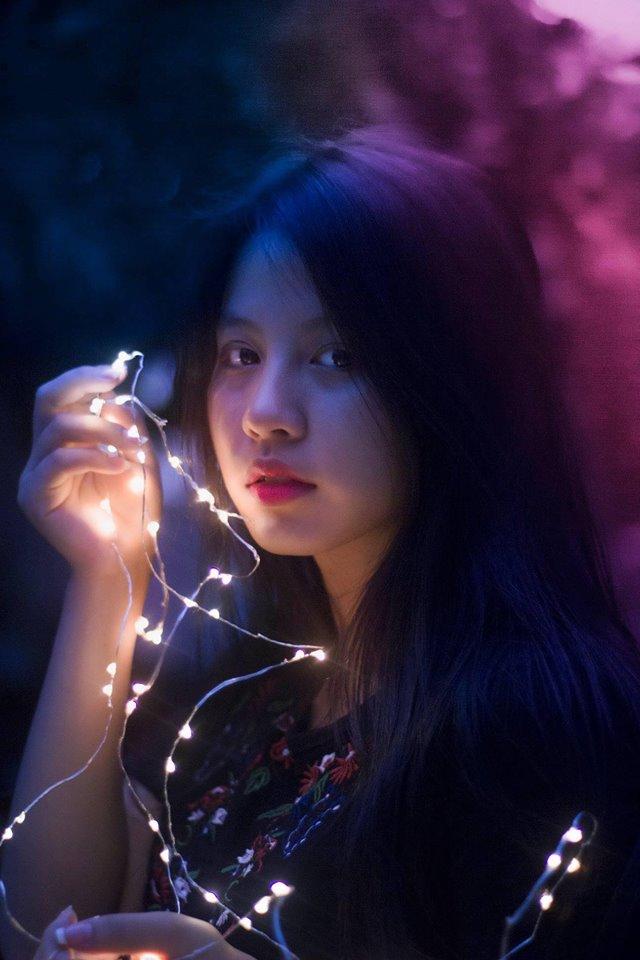 Huyền Trang từng đạt giải Khuyến khích cuộc thi Cặp đôi tài năng