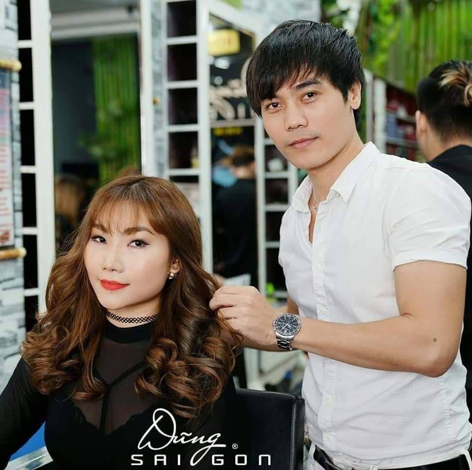 Nguyễn Minh Dũng là chuyên gia tạo mẫu tóc rất nổi tiếng ở Việt Nam
