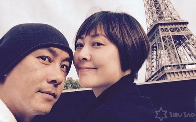 Trương Vệ Kiện và bà xã Trương Tây