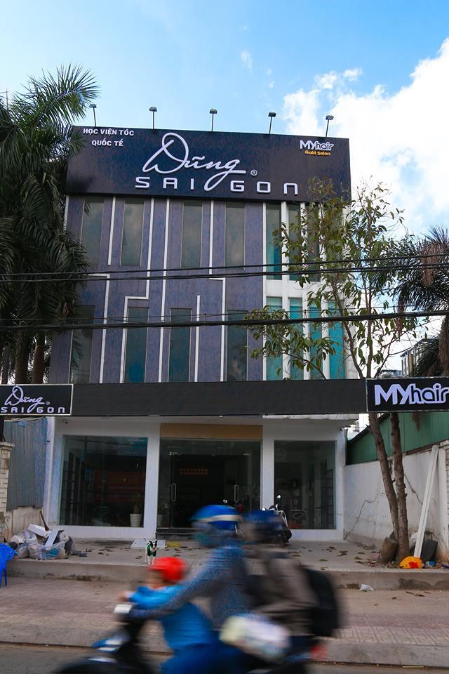 Dũng Sài Gòn - MYhair chính thức khai trương salon tóc lớn nhất quận 7 tại TP.Hồ Chí Minh