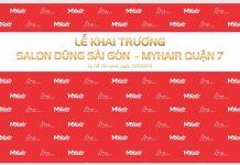 Thư mời nghệ sĩ trải nghiệm dịch vụ salon tóc Dũng Sài Gòn - MYhair lớn nhất quận 7