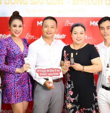 Dàn sao hội ngộ mừng khai trương salon tóc Dũng Sài Gòn - MYhair lớn nhất quận 7