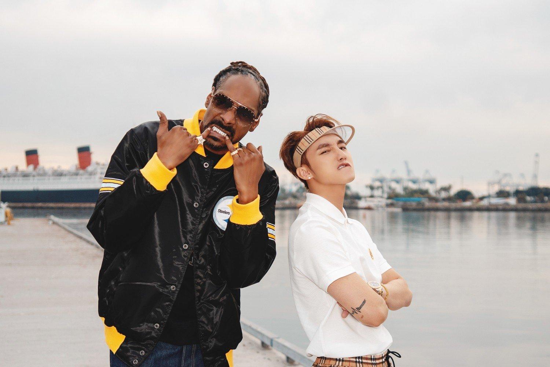 Ca sĩ Sơn Tùng M-TP và rapper Snoop Dogg