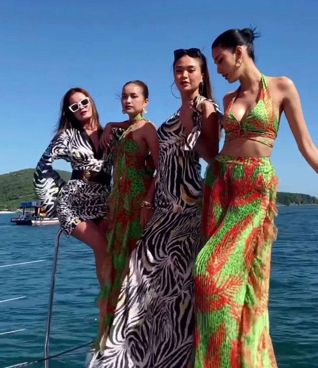 Cuộc đọ sắc của 4 quán quân Việt Nam's Next Top Model