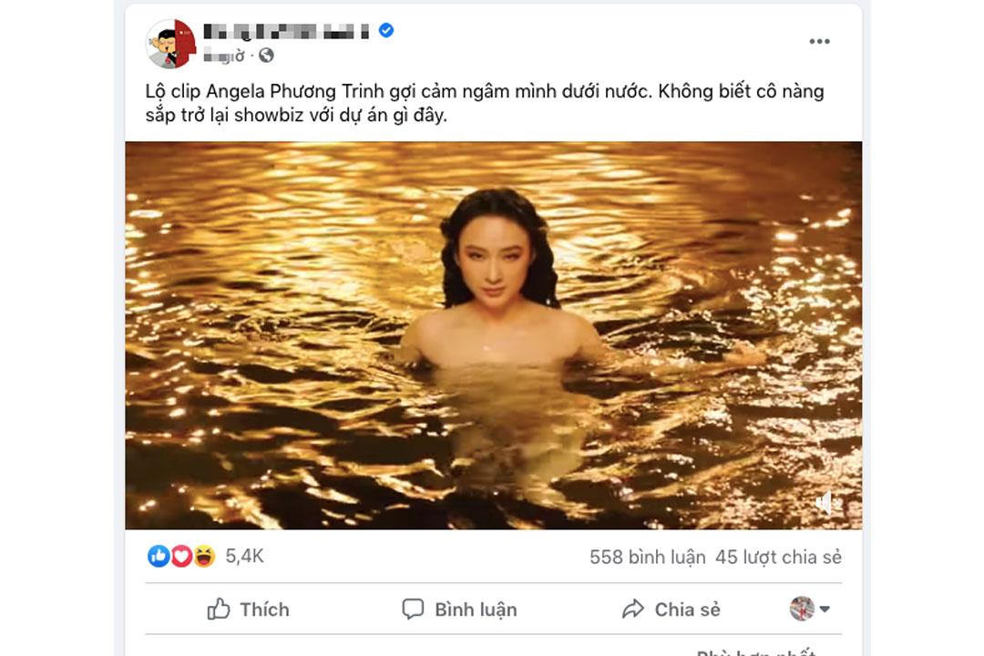 Cộng đồng mạng chia sẻ đến chống mặt video 10 giây của Phương Trinh