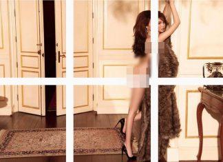 Ngọc trinh đăng tải hỉnh ảnh nude trên trang cá nhân