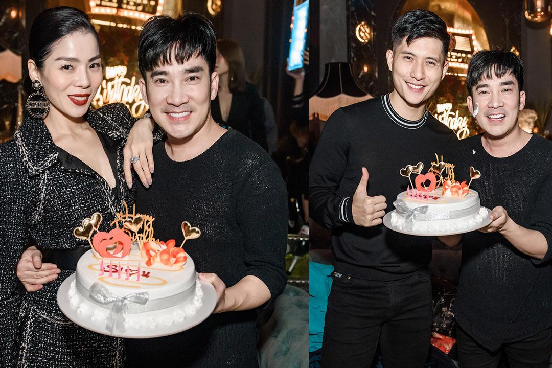 Lệ Quyên Và Bảo Châu cùng cùng có mặt trong tiệc sinh nhật Quang Hà