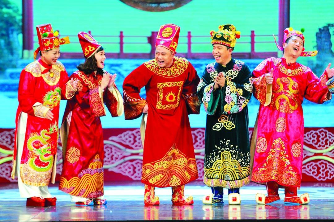 Táo quân 2021 đang được ghi hình tại Cung Văn hóa Hữu Nghị, Hà Nội.