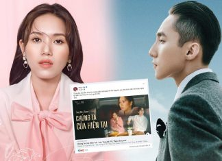 """Ca sĩ Thùy Chi bị chỉ trích khi đăng lại cover """"chúng ta của hiện tại"""""""