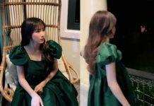 Do mang váy rộng thùng thình, cư dân mạng nghi Hòa Minzy mang bầu lần 2