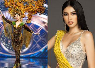 Ngọc Thảo dừng lại ở Top 20 trong cuộc thi Hoa hậu Hòa bình Thế giới năm 2021