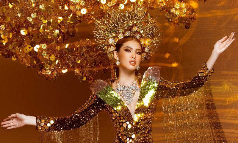 Quốc phục Ngọc Thảo chọn nhận được nhiều lời khen ngợi từ cộng đồng mạng