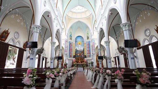 Lễ đường diễn ra lễ cưới của Phan Mạnh Quỳnh
