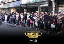 Hình ảnh casting Rap Việt tại TP HCM