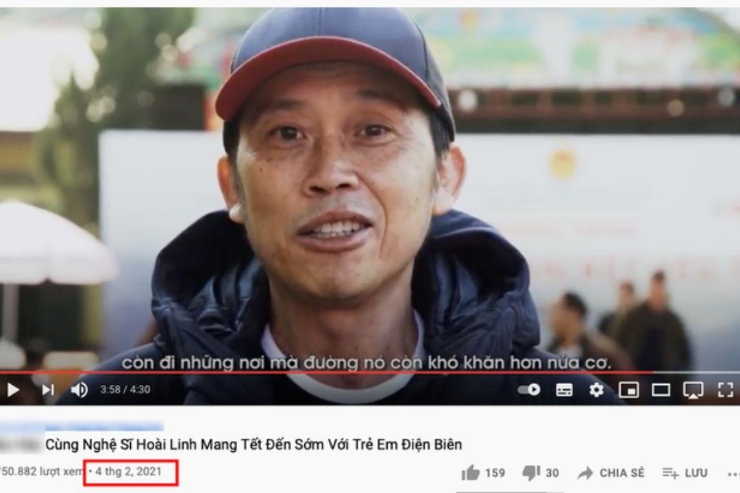 Cộng đồng mạng chỉ ra tình tiết Hoài Linh đi làm từ thiện cùng đợt lũ lụt với một công ty lấy Hoài Linh làm hình ảnh