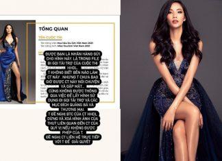 Hoàng Thùy tố cáo ban tổ chức Hoa hậu Du lịch Việt Nam 2021