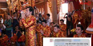 Rò rỉ thông tin Hoài Linh nợ tiền xây nhà thờ tổ