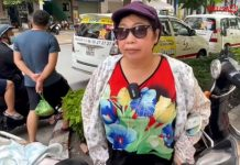 Nghệ sĩ Phi Phụng phải làm shipper mùa dịch