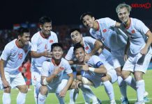 Việt Nam thắng áp đảo Indonesia với tỉ số 4-0