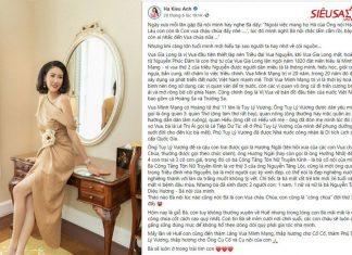 Hà Kiều Anh tự nhận công chúa đời thứ 7 triều Nguyễn