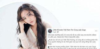 Văn Mai Hương lên tiếng xin lỗi fan của GaGa