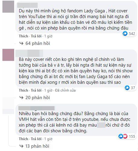 Những comment của fan Lady GaGa tại Việt Nam liên quan đến Văn Mai Hương