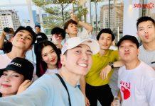 Dàn cast Running Man mùa 2 qua Hàn ghi hình tới qua