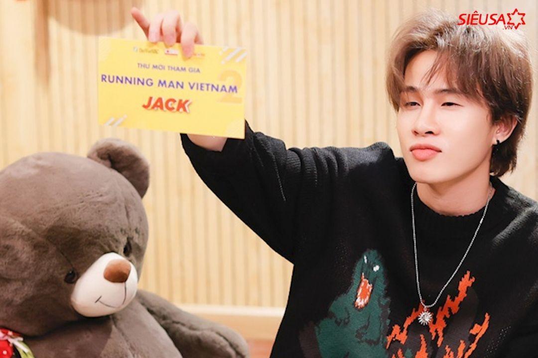 Jack xác nhận tham gia chương tình thực tế hút khách Running Man mùa 2